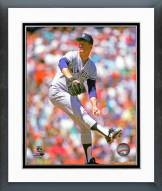 New York Yankees Tommy John 1989 Pitching Action Framed Photo