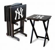 New York Yankees TV Trays - Set of 4