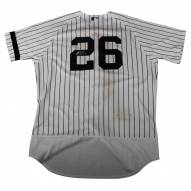 New York Yankees Tyler Austin Signed Game Used #26 Pinstripe Jersey (10/1/2017)
