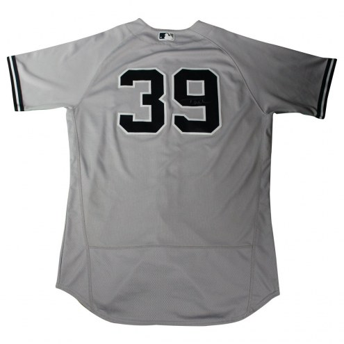 New York Yankees Tyler Wade Signed Game Used #39 Grey Jersey (6/28/2017)