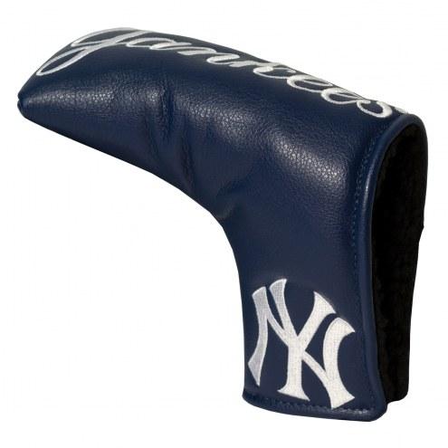 New York Yankees Vintage Golf Blade Putter Cover