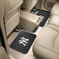 New York Yankees Vinyl 2-Piece Rear Floor Mats