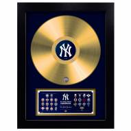 New York Yankees Vinyl Gold Record