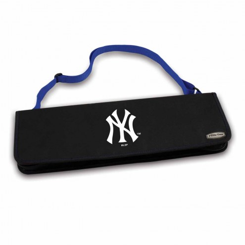 New York Yankees Vista Blue Metro BBQ Set