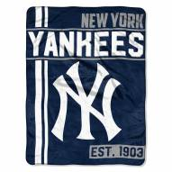 New York Yankees Walk Off Throw Blanket