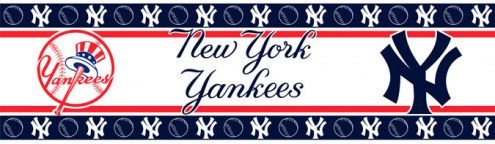 New York Yankees Wall Border