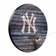 New York Yankees Weathered Design Hook & Ring Game