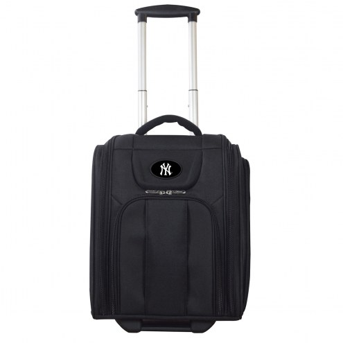 New York Yankees Wheeled Business Tote Laptop Bag