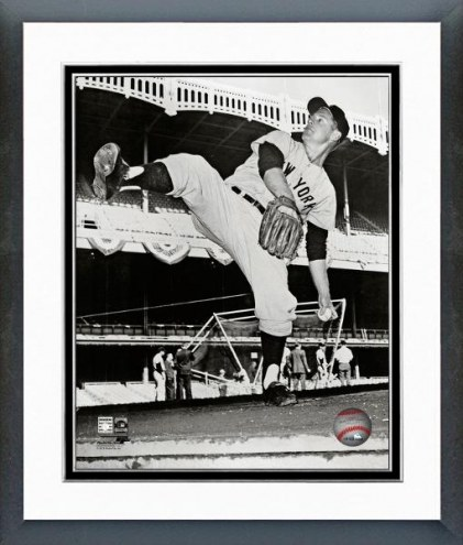New York Yankees Whitey Ford Posed Framed Photo