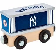 New York Yankees Wood Box Car Train