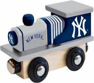New York Yankees Wood Toy Train