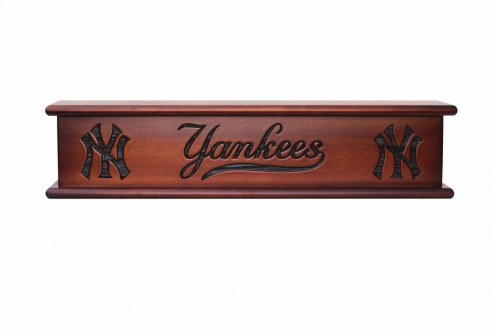 New York Yankees Wood Wall Shelf