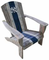 New York Yankees Wooden Adirondack Chair
