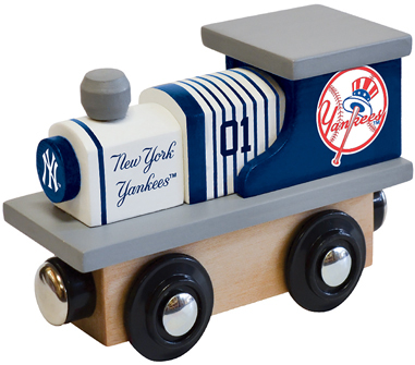 New York Yankees Wooden Toy Train