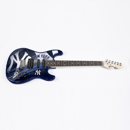 New York Yankees Woodrow Northender Electric Guitar