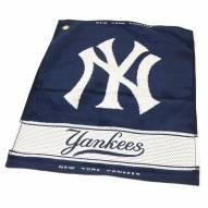 New York Yankees Woven Golf Towel