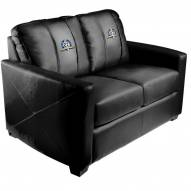 New York Yankees XZipit Silver Loveseat with 27th Champ Logo