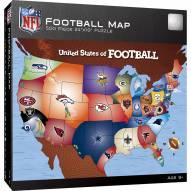 NFL League Map 500 Piece Puzzle