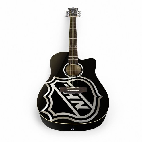 NHL Shield Woodrow Acoustic Guitar