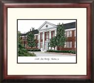 Nicholls State Colonels Alumnus Framed Lithograph