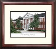 Nicholls State Colonels Alumnus Framed Lithograph