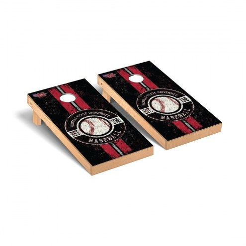 Nicholls State Colonels Baseball Vintage Cornhole Game Set