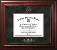 Nicholls State Colonels Executive Diploma Frame