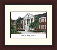 Nicholls State Colonels Legacy Alumnus Framed Lithograph