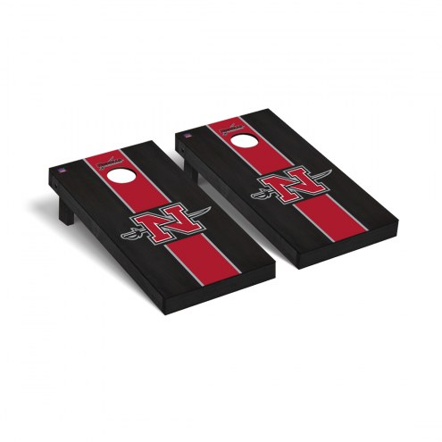 Nicholls State Colonels Onyx Stained Cornhole Game Set
