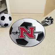 Nicholls State Colonels Soccer Ball Mat
