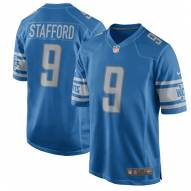 Nike NFL Detroit Lions Matthew Stafford Youth Game Home Football Jersey