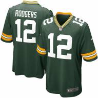 Nike NFL Green Bay Packers Aaron Rodgers Youth Game Football Jersey