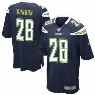 Nike NFL Los Angeles Chargers Melvin Gordon Youth Game Home Football Jersey