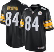 Nike NFL Pittsburgh Steelers Antonio Brown Youth Game Football Jersey