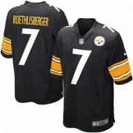 Nike NFL Pittsburgh Steelers Ben Rothlisberger Youth Game Football Jersey