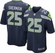 Nike NFL Seattle Seahawks Richard Sherman Youth Game Football Jersey