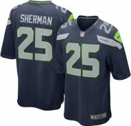 Nike NFL Seattle Seahawks Richard Sherman Youth Game Football Jersey