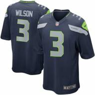Nike NFL Seattle Seahawks Russell Wilson Youth Game Football Jersey