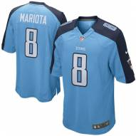 Nike NFL Tennessee Titans Marcus Mariota Youth Game Football Jersey