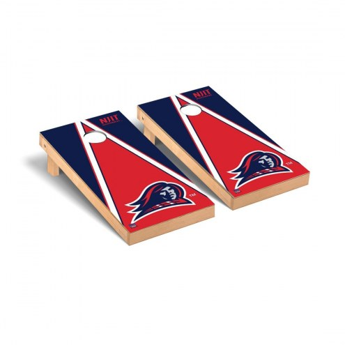 NJIT Highlanders Triangle Cornhole Game Set