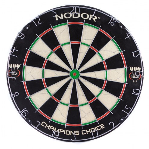 Nodor Champion?s Choice Bristle Practice Dartboard