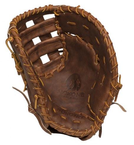 "Nokona Classic Walnut 13"" Baseball/Softball First Base Mitt - Right Hand Throw"