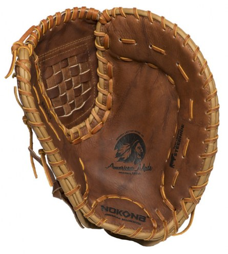 "Nokona Classic Walnut 14"" Baseball/Softball First Base Mitt - Right Hand Throw"