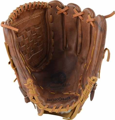"Nokona Classic Walnut WS-1300C 13"" Closed Web Softball Glove - Right Hand Throw"