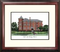 Norfolk State Spartans Alumnus Framed Lithograph