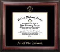 Norfolk State Spartans Gold Embossed Diploma Frame