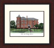 Norfolk State Spartans Legacy Alumnus Framed Lithograph