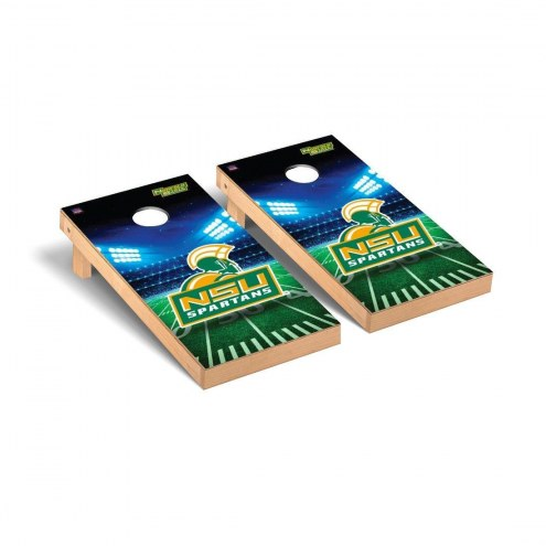 Norfolk State Spartans Stadium Cornhole Game Set