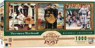 Norman Rockwell Baseball 1000 Piece Panoramic Puzzle