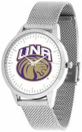 North Alabama Lions Silver Mesh Statement Watch